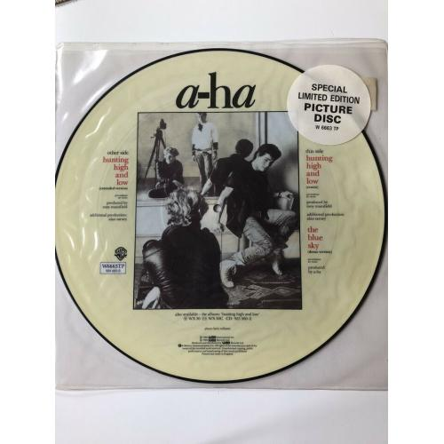 a-ha hunting high and low 1986 Picture Vinyl
