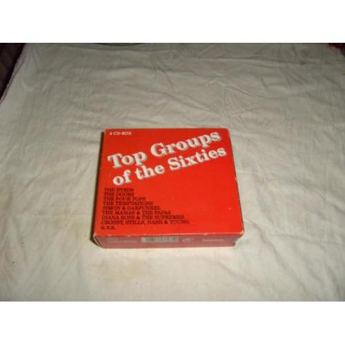 4 CD-Box Top Groups of the Sixties.The Byrds,Doors,Four Tops.....